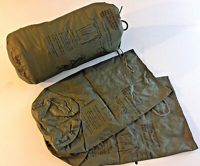 New Unissued Set Of 3 Waterproof Alice Pack Pocket Liners (Size 1)