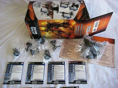 Star Wars Miniatures BOUNTY HUNTERS (WOTC) Booster Contents 'Krayt Dragon' - New