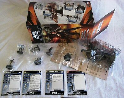 Star Wars Miniatures BOUNTY HUNTERS (WOTC) Booster Contents incl. 'Bossk' - New