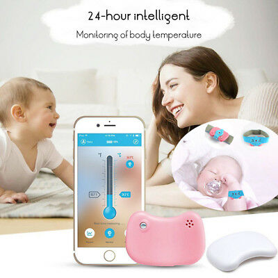 Bluetooth Infant Baby Intelligent Thermometer Wireless Phone Fever Monitor