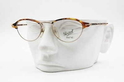 Vintage PERSOL TREND PC 124 glasses eyeglasses, Oval tortoise cat eye, NOS New