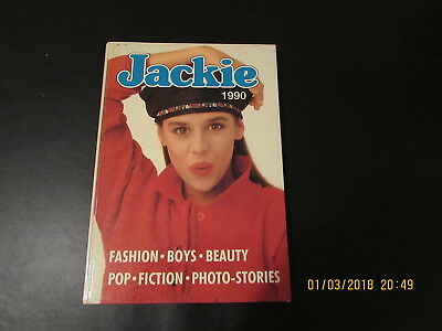 Jackie  Girls   Annual  1990  Very   Good  For  Age
