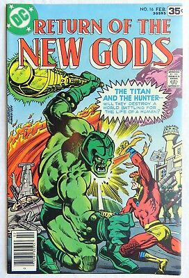 Return of the New Gods #16 VF+ DC 1977 - Free Shipping!