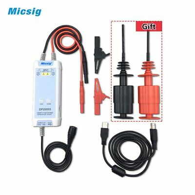 Micsig DP20003 Oscilloscope 100MHz High Voltage Differential Probe Kit BL