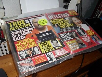 True Crime Detective APRIL2018MASTER DETECTIVE SEALED 2 MAGS FOR £5.50
