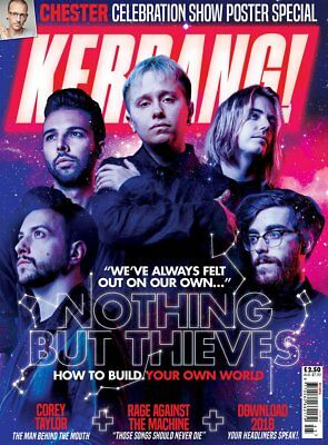 Kerrang 1696 November 11th 2017 Nothing But Thieves on the cover