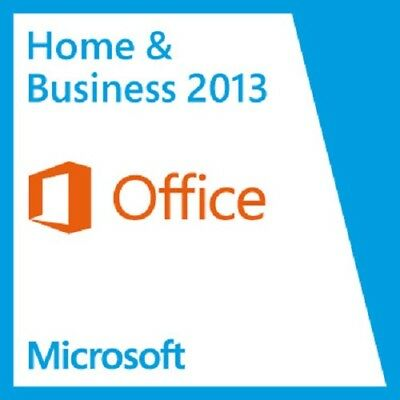 Microsoft Office 2013 Home and Business Vollversion ESD Original Multilingual