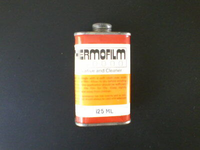 Photographic celluloid film cleaner and preserver made by Thermofilm 125ml