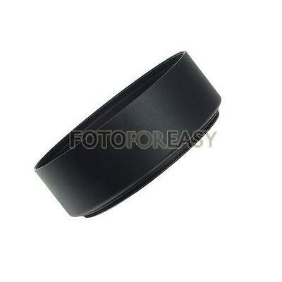 Screw-in Mount 49mm Standard Metal Lens Hood Universal for DSLR SLR Camera TR