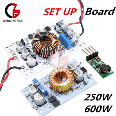 250/600W 10A Step Up DC Boost Converter Constant Current Power Supply LED Driver