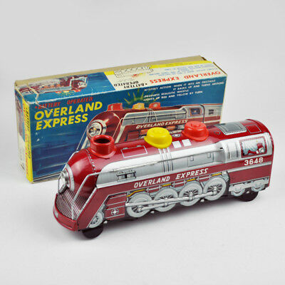 Overland Express 3648 - Japan (TM Trade Mark Modern Toys) - Vintage - Blech