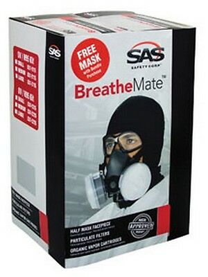SAS Safety 031-3115 Breathemate Respirateur Kit Liasse, Grand