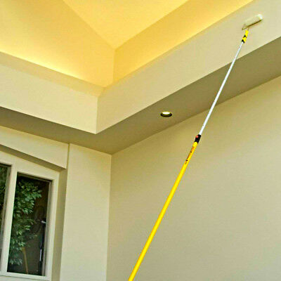 Aluminum Extension Pole Mop Broom Handle Heavy Duty Manual Cleaning Equipment