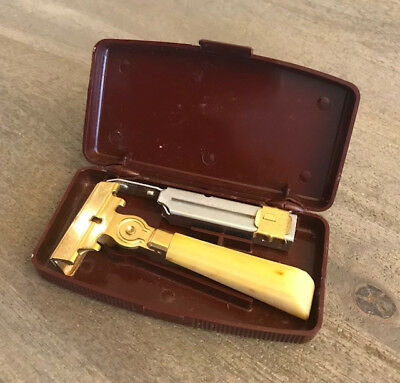 Vintage Schick Eversharp Single-Edge Injector Safety Razor