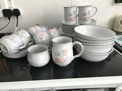 Denby Encore Sweet Pea Dinner Set