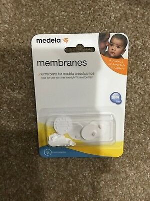 Medela Replacement Spare Membranes Package of 6 Count Pump in Style 87088 New