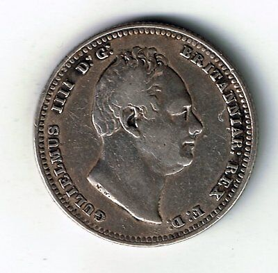 1835 William IV sterling silver shilling - 5.5g