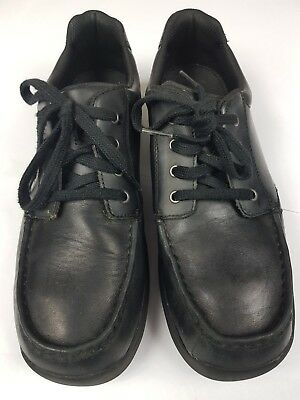 BOOTLEG Black Lace-up Mens Boys Leather Shoes - UK 7 / EU 41 Excellent Cond