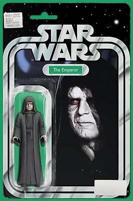 Star Wars #50 Emperor Action Figure Variant Marvel Comics Near Mint 7/4/18