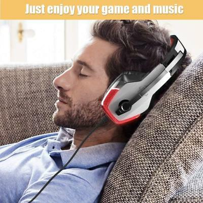 V4 Gaming Headset Professional Wired Earphones Surrounding Stereo Subwoofer