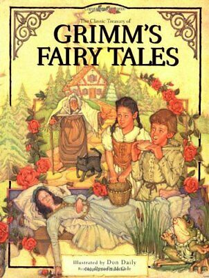 """The Classic Treasury of """"Grimm's Fairy Tales"""" by McCole, Danielle Hardback Book"""
