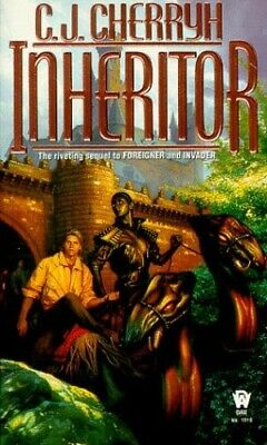 Inheritor by C. J. Cherryh Book The Cheap Fast Free Post