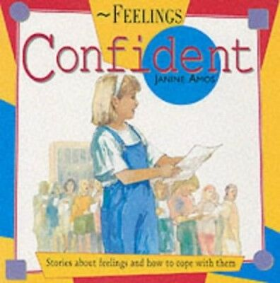 Confident (Feelings) by Amos, Janine Miscellaneous print Book The Cheap Fast