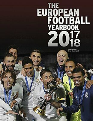 UEFA European Football Yearbook 2017/18 by Mike Hammond Book The Cheap Fast Free