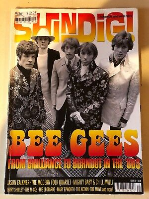 SHINDIG MAGAZINE - issue 25 - THE BEE GEES
