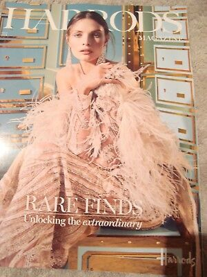 HARRODS A5 handbag size magazine July 2018