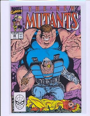 New Mutants # 88 - 2nd full Cable Liefeld & McFarlane cover NM- Cond.