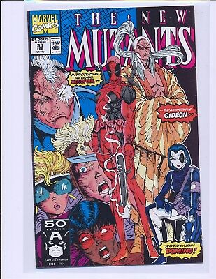 New Mutants # 98 - 1st Deadpool & Domino VF+ Cond.