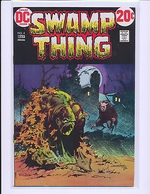 Swamp Thing # 4 - Wrightson cover & art Fine+ Cond.