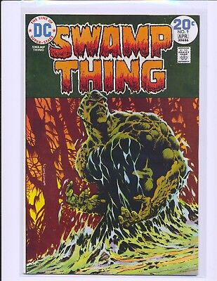 Swamp Thing # 9 - Wrightson cover & art VF+ Cond.