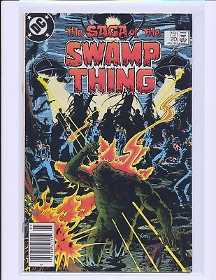 Saga of the Swamp Thing # 20 - 1st Alan Moore issue VG/Fine Cond.