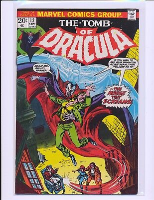 Tomb of Dracula # 12 - 2nd Blade The Vampire Slayer Fine+ Cond.