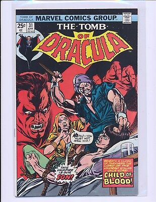 Tomb of Dracula # 31 VF/NM Cond.