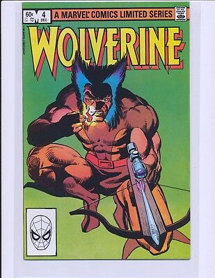 Wolverine Limited Series # 4 - Frank Miller story & art VF/NM Cond.
