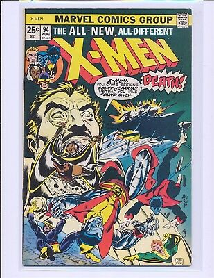 X-Men # 94 - New X-Men Cont. From GS X-Men 1 Fine Cond.