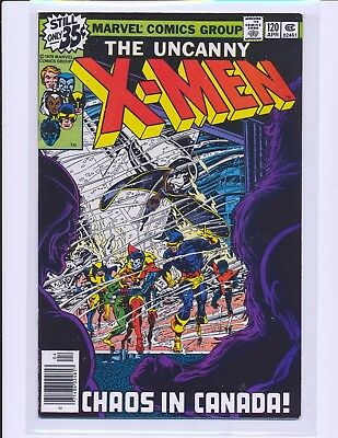 X-Men # 120 - 1st Alpha Flight VF Cond.
