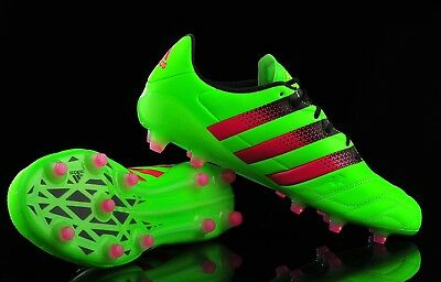 7cda78882496 Adidas Ace 16.1 FG AG leather Football Boots Size Uk 8.5 RRP £150.00