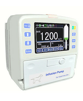 Veterinary Infusion IV Pump with Fluid Warmer - Small size <3#