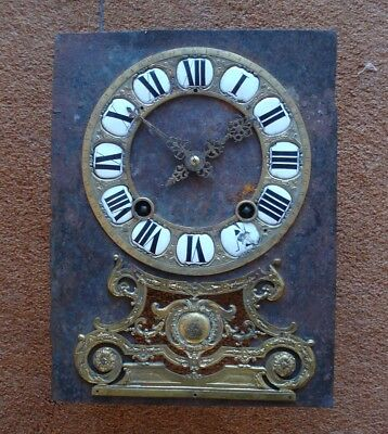 Jacques H0Ry A Paris Fine & Rare 17Th C French Religieuse Bracket Clock Movement