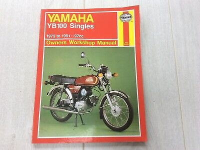 haynes manual yamaha yb100 singles 1973 1991 98cc 4 20 rh picclick co uk yamaha yb 100 specifications yamaha yb100 manual pdf