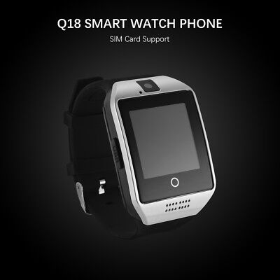 Q18 Touch Screen Bluetooth Smart Wrist Watch Phone Sports For Android IOS AC1119