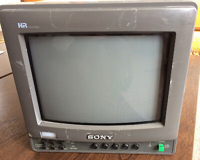 Sony BVW-9221ME High Resolution 9 inch broadcast production monitor