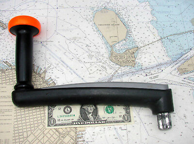 Dax/Lewmar ONE TOUCH SAILBOAT WINCH HANDLE-Many Photos-STOUT-HANDY-L@@K-LQQK!!