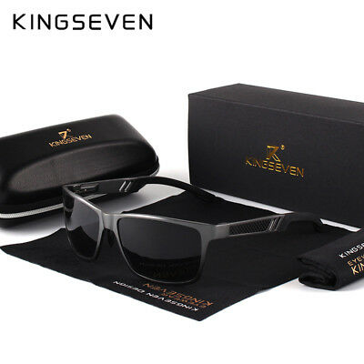 KINGSEVEN Polarized Sunglasses Driving Men Sports Cycling Outdoor UV400 Glasses