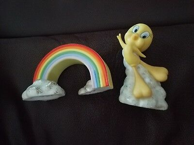 Lenox Tweety Over The Wainbow Salt And Pepper Shaker Set