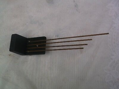 4 Fork Chimes  From An Old Smiths Mantle Clock